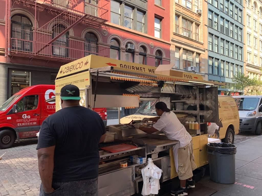 Calexico Cart Soho | restaurant | 132 Wooster St, New York, NY 10012, USA | 5132923420 OR +1 513-292-3420