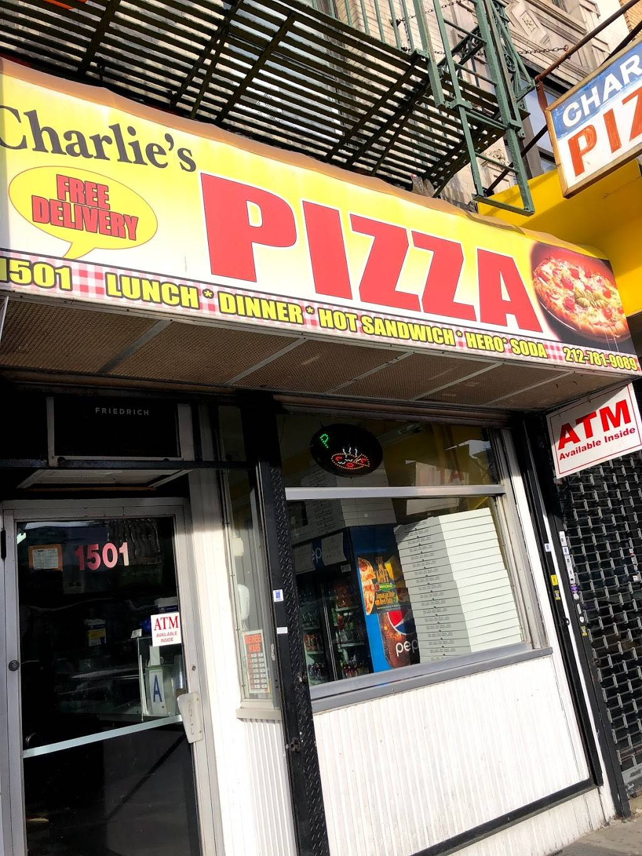Charlies Pizza | restaurant | 1501 St Nicholas Ave, New York, NY 10033, USA | 2127819089 OR +1 212-781-9089