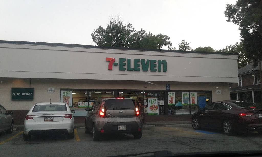 7-Eleven | bakery | 620 Reisterstown Rd, Baltimore, MD 21208, USA | 4104862656 OR +1 410-486-2656