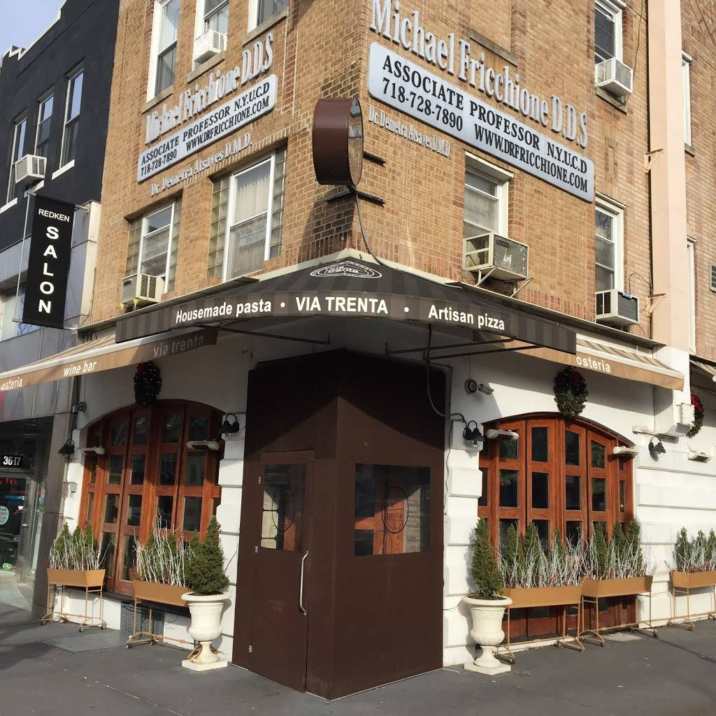 Via Trenta   restaurant   36-19 30th Ave, Astoria, NY 11103, USA   7185452090 OR +1 718-545-2090