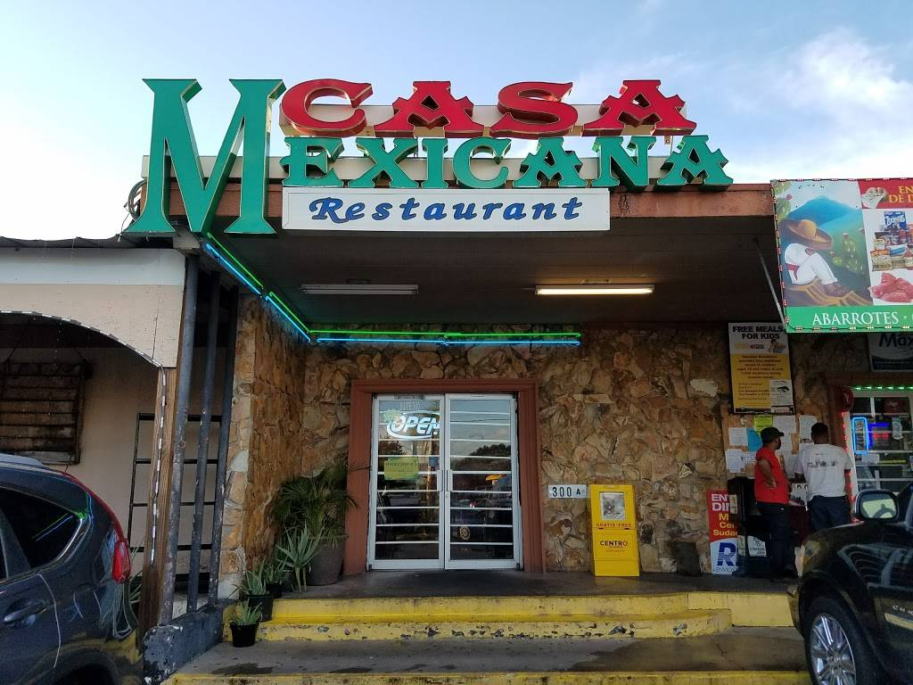 Casa Mexicana Restaurant | restaurant | 7730 Palm River Rd #300, Tampa, FL 33619, USA | 8134430884 OR +1 813-443-0884