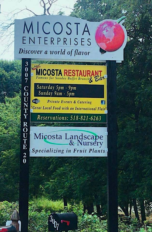 Micosta Enterprises, Inc. | restaurant | 3007 County Rd 20, Hudson, NY 12534, USA | 5184510109 OR +1 518-451-0109