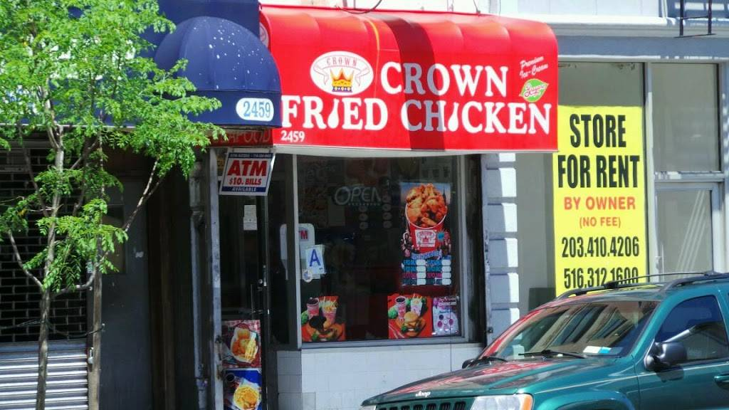 Crown Fried Chicken | meal takeaway | 2459 Frederick Douglass Blvd, New York, NY 10027, USA | 2124912724 OR +1 212-491-2724