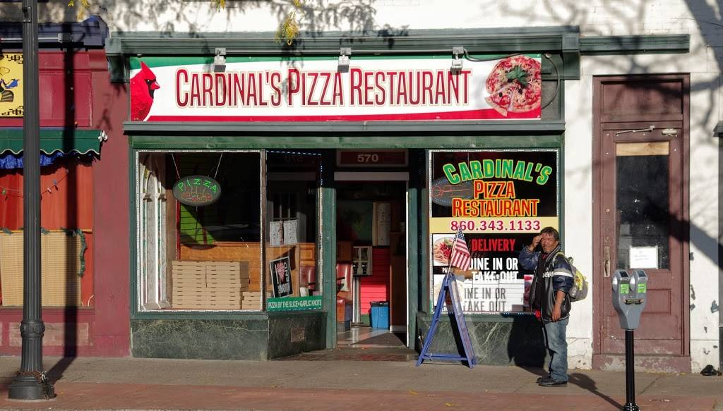 Cardinals pizza | meal delivery | 570 Main St, Middletown, CT 06457, USA | 8603431133 OR +1 860-343-1133