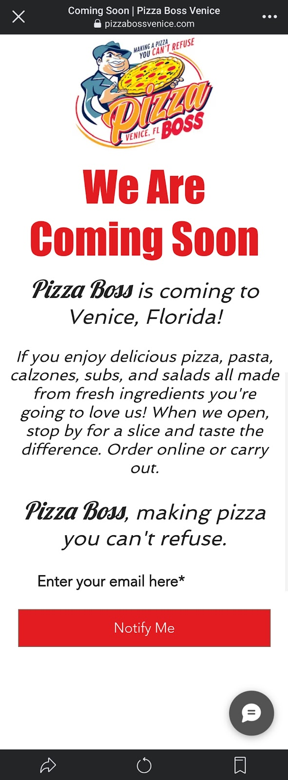 Pizza Boss | restaurant | 4260 S Tamiami Trail, Venice, FL 34293, USA