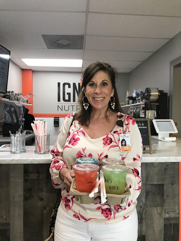 Ignite nutrition | restaurant | 490 E Heinberg St, Pensacola, FL 32502, USA | 8503900015 OR +1 850-390-0015
