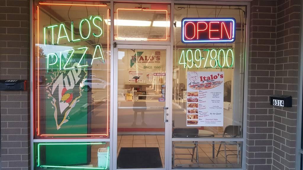 Italos Pizza   restaurant   6316 Market Ave N, Canton, OH 44721, USA   3304997800 OR +1 330-499-7800