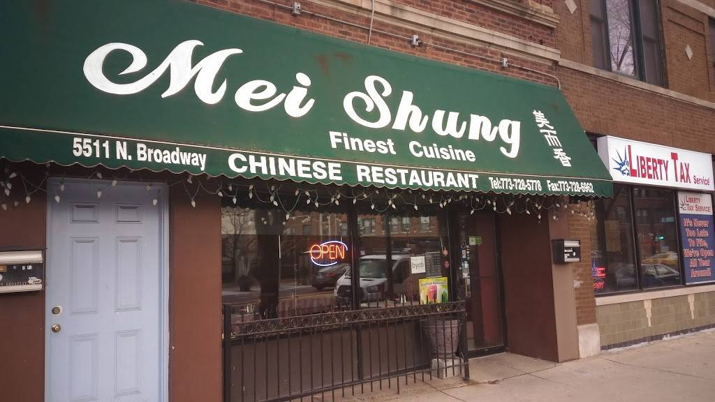 Mei Shung   restaurant   5511 N Broadway, Chicago, IL 60640, USA   7737285778 OR +1 773-728-5778