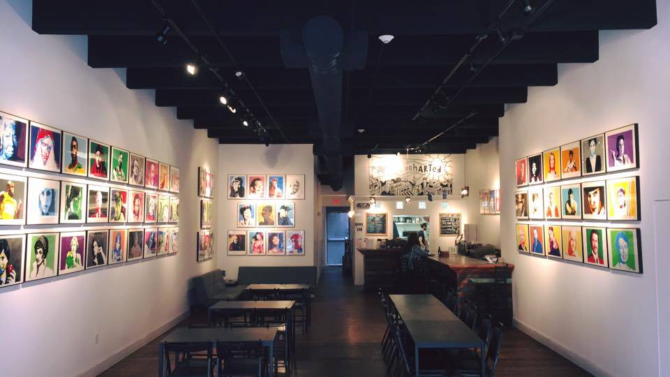 UnchARTed Gallery & Studios | cafe | 103 Market St, Lowell, MA 01852, USA | 9783239040 OR +1 978-323-9040