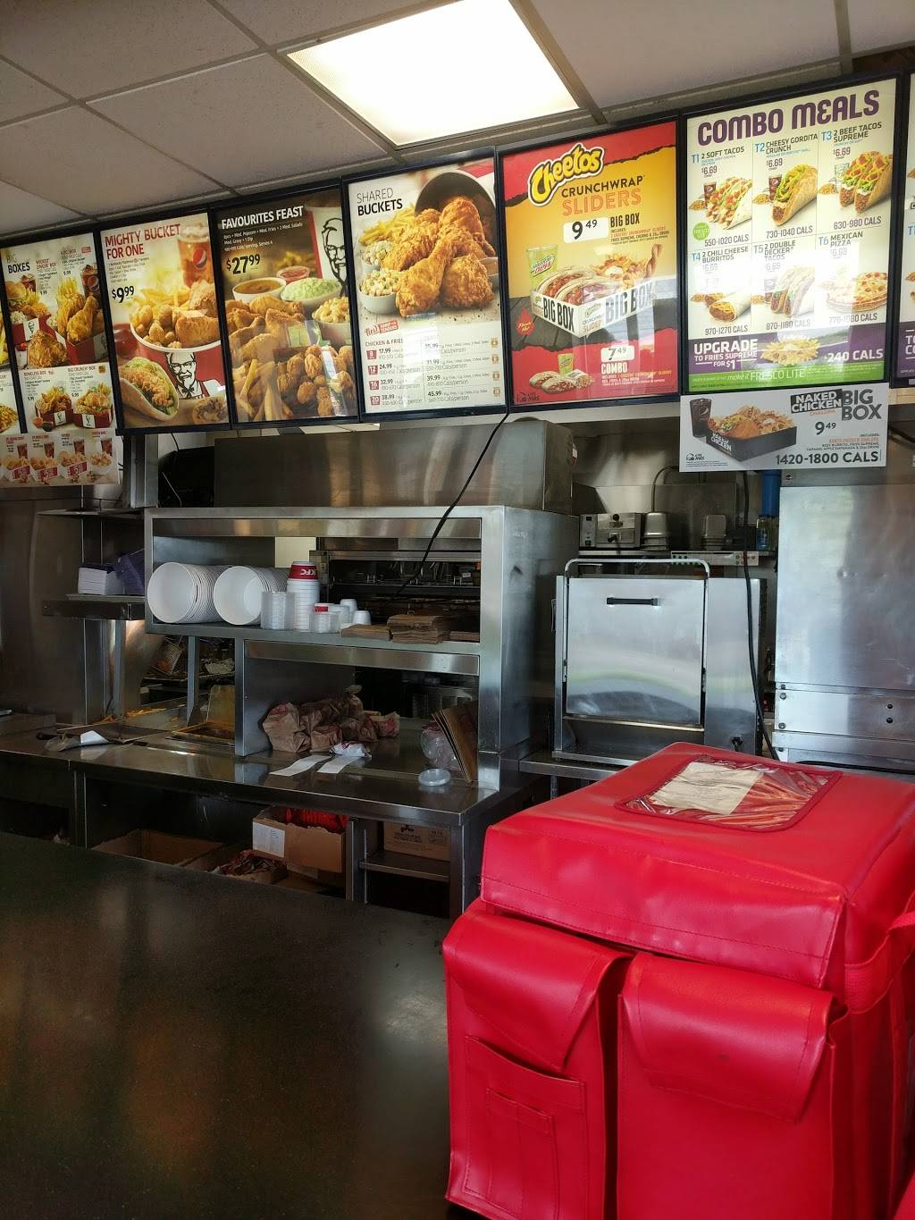 KFC | meal delivery | 370 Hespeler Rd, Cambridge, ON N1R 6J6, Canada | 5196217000 OR +1 519-621-7000