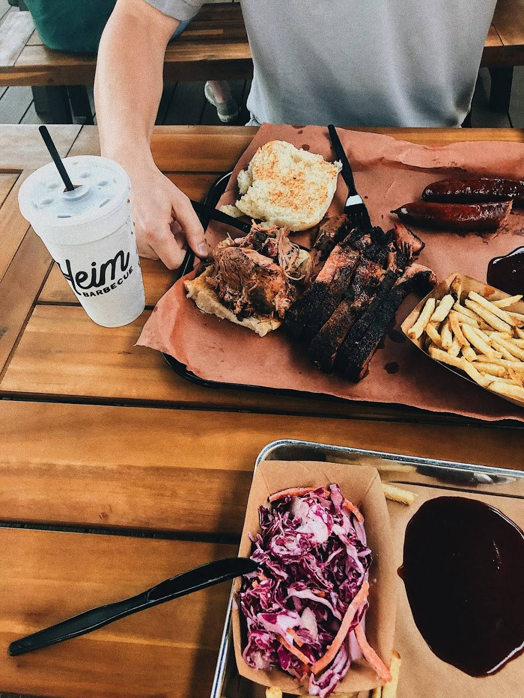 Heim Barbecue on the River | restaurant | 5333 White Settlement Rd, Fort Worth, TX 76114, USA | 6827075772 OR +1 682-707-5772