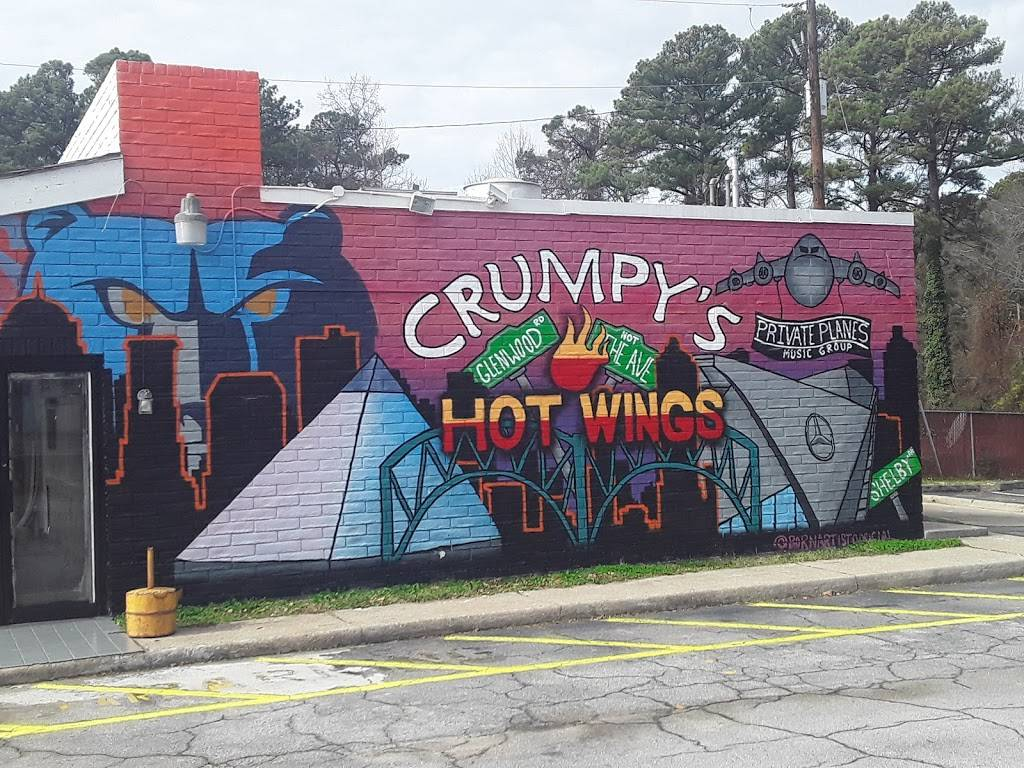Crumpy's Hotwings | restaurant | 4468 Glenwood Rd, Decatur, GA 30032, USA | 4048005791 OR +1 404-800-5791