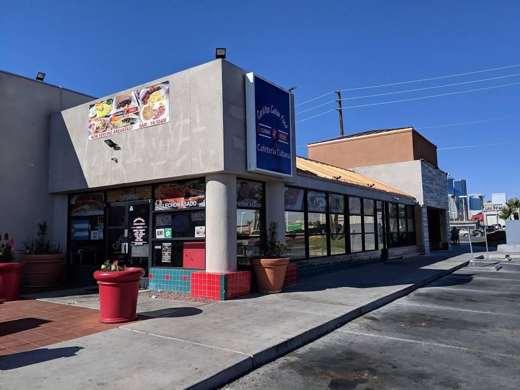 Cafeteria Cubana | restaurant | 2680 S Maryland Pkwy, Las Vegas, NV 89109, USA | 7024855930 OR +1 702-485-5930