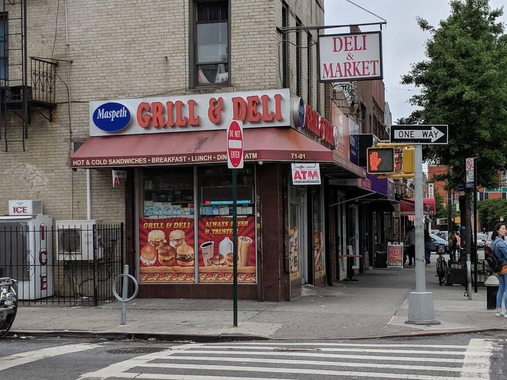 Maspeth Deli & Grill | restaurant | 71-01 Grand Ave, Flushing, NY 11378, USA | 7186062081 OR +1 718-606-2081