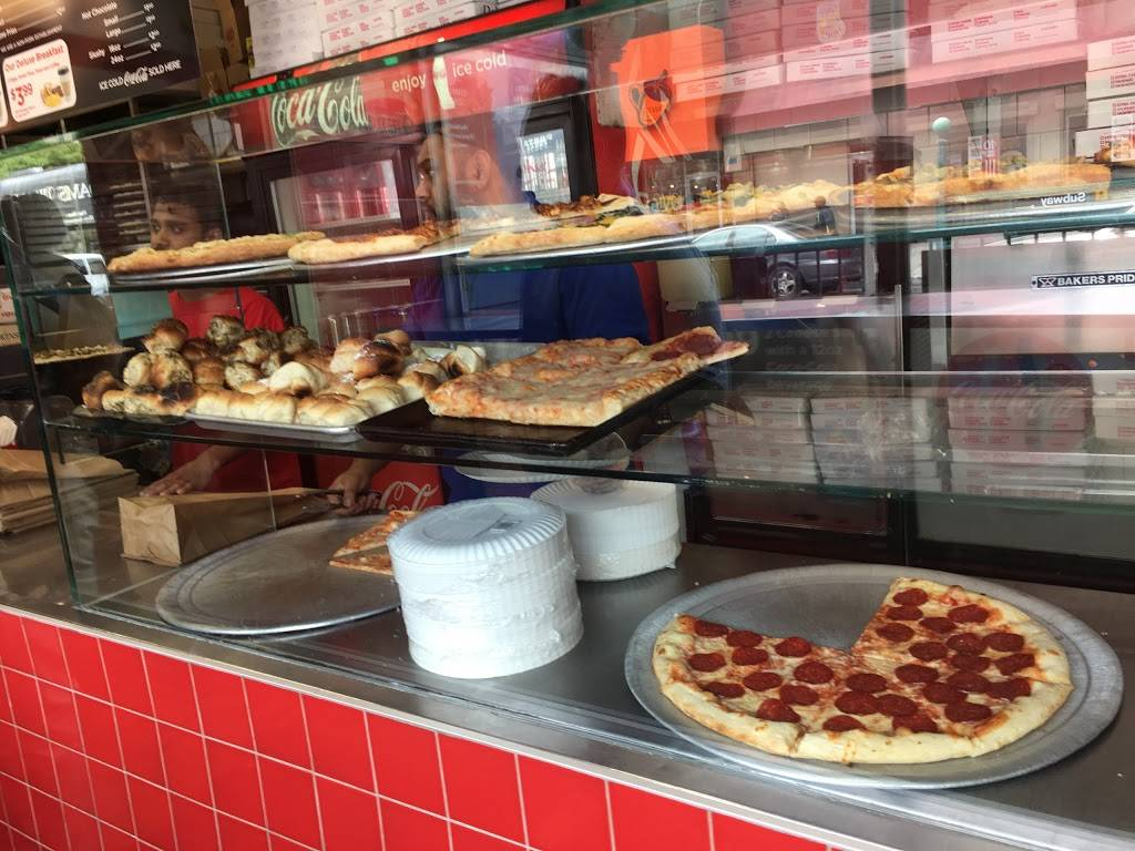 $1 Slice | meal takeaway | 534 Nostrand Ave, Brooklyn, NY 11216, USA