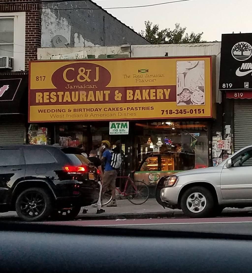 C&J | restaurant | 817 Utica Ave, Brooklyn, NY 11203, USA | 7183450151 OR +1 718-345-0151