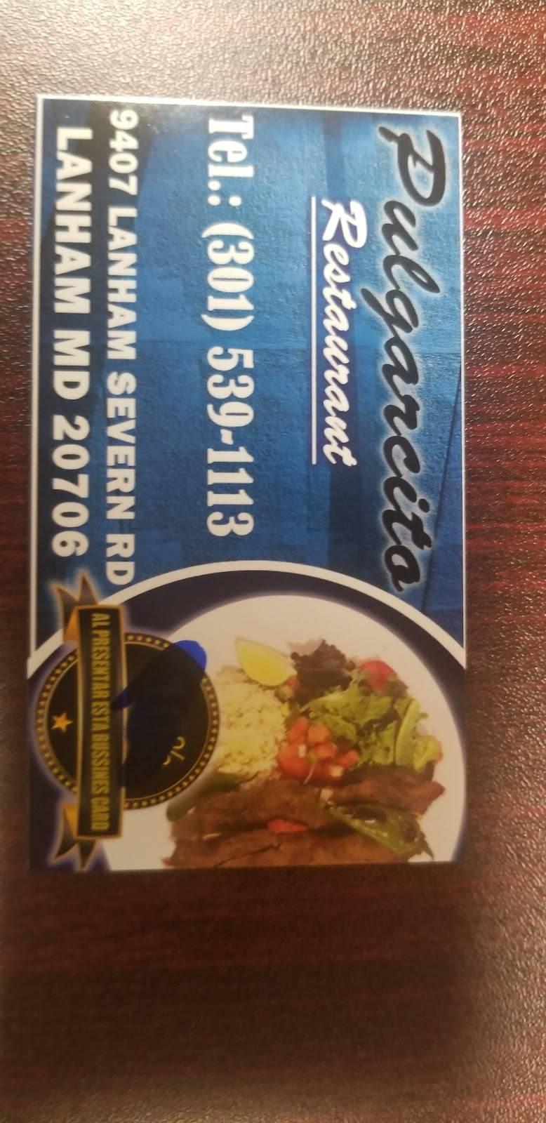 El Pulgarcito | restaurant | Seabrook, MD 20706, USA | 3015391113 OR +1 301-539-1113