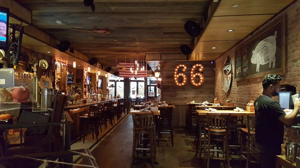 Route 66 Smokehouse | restaurant | 46 Stone St, New York, NY 10004, USA | 2129431602 OR +1 212-943-1602