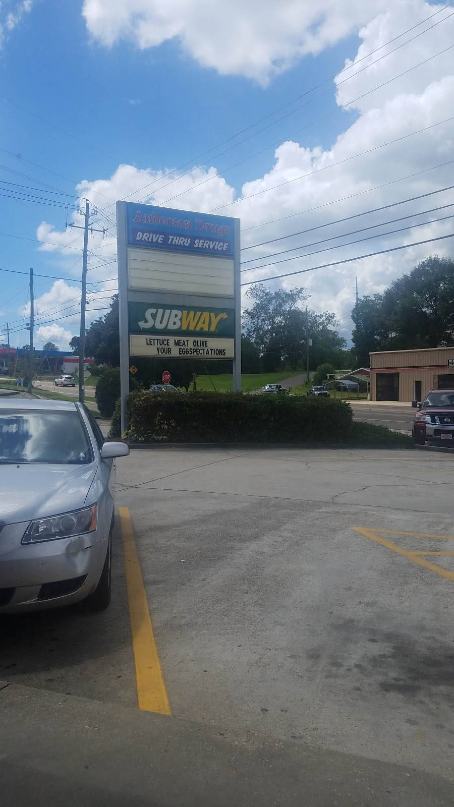 Subway   meal takeaway   5796 Highway ll, #1, Purvis, MS 39475, USA   6017945511 OR +1 601-794-5511