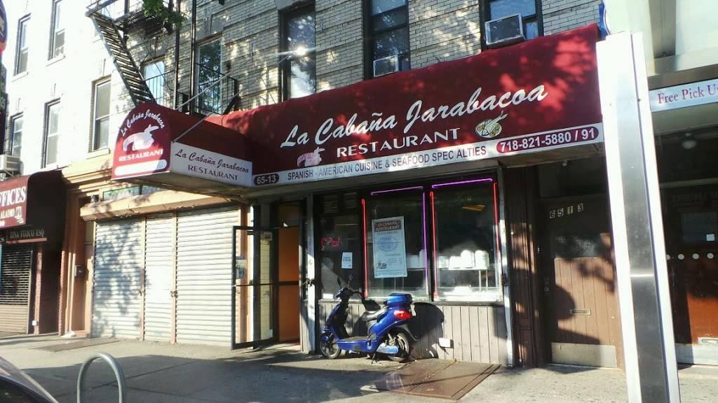 La Cabana Jarabacoa | restaurant | 65-13 Fresh Pond Rd, Ridgewood, NY 11385, USA | 7188215880 OR +1 718-821-5880