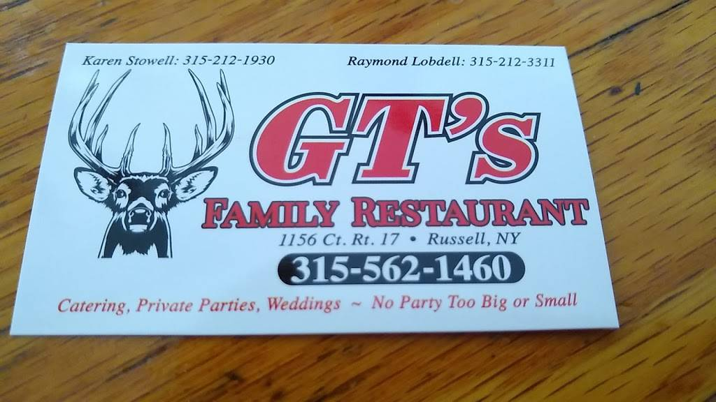 Satchs   restaurant   1156 Co Rd 17, Russell, NY 13684, USA   3155621460 OR +1 315-562-1460
