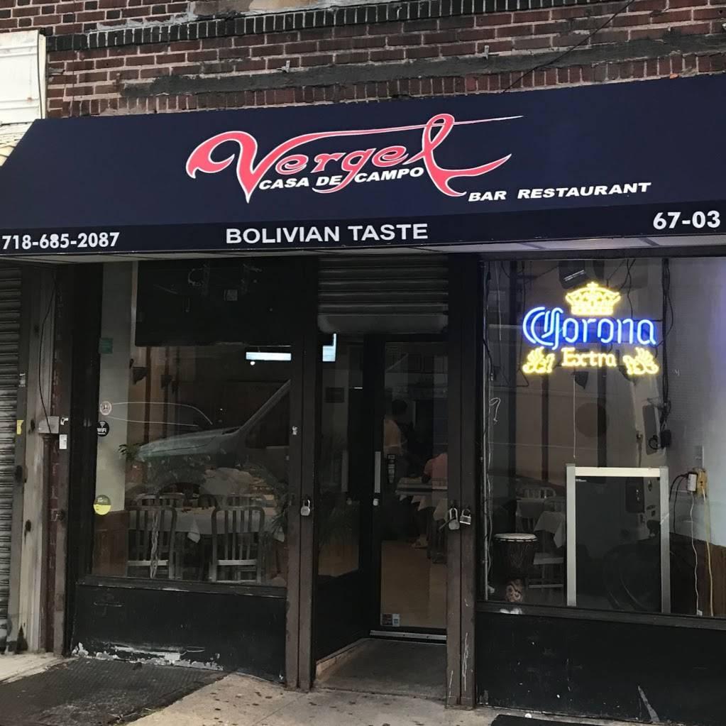 Vergel Casa de Campo | cafe | 67-03 Woodside Ave, Woodside, NY 11377, USA | 7186852087 OR +1 718-685-2087