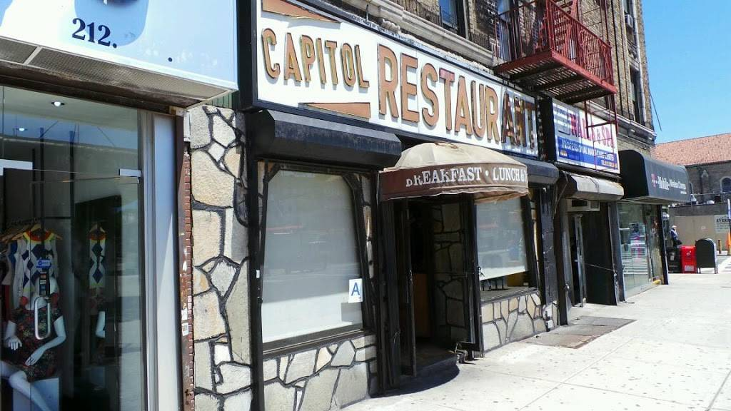 Capitol | restaurant | 4933 Broadway, New York, NY 10034, USA | 2129425090 OR +1 212-942-5090