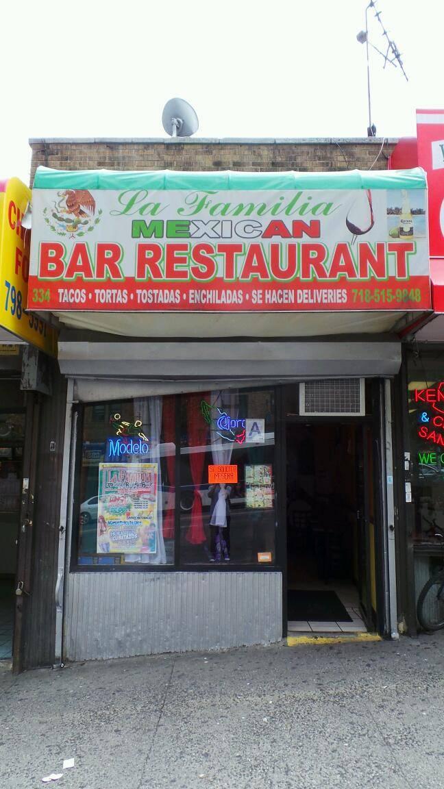 La Familia   restaurant   334 E Gun Hill Rd, Bronx, NY 10467, USA   7185159848 OR +1 718-515-9848