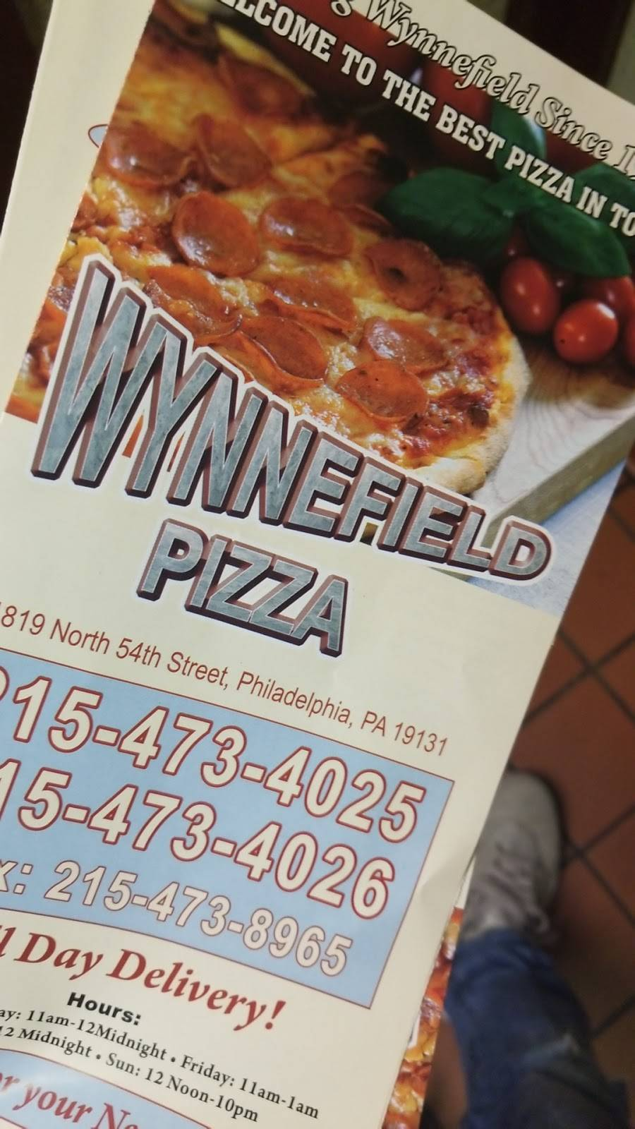 Wynnefield Pizza | meal delivery | 1819 N 54th St, Philadelphia, PA 19131, USA | 2154734025 OR +1 215-473-4025