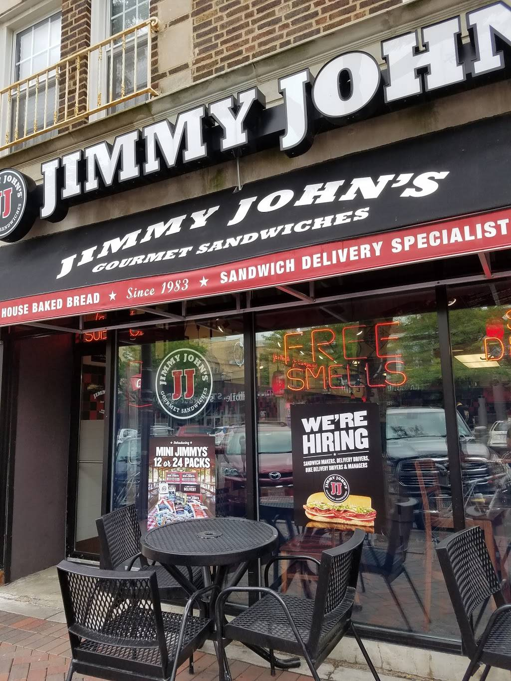 Jimmy Johns   meal delivery   1729 Sherman Ave, Evanston, IL 60201, USA   8473288858 OR +1 847-328-8858