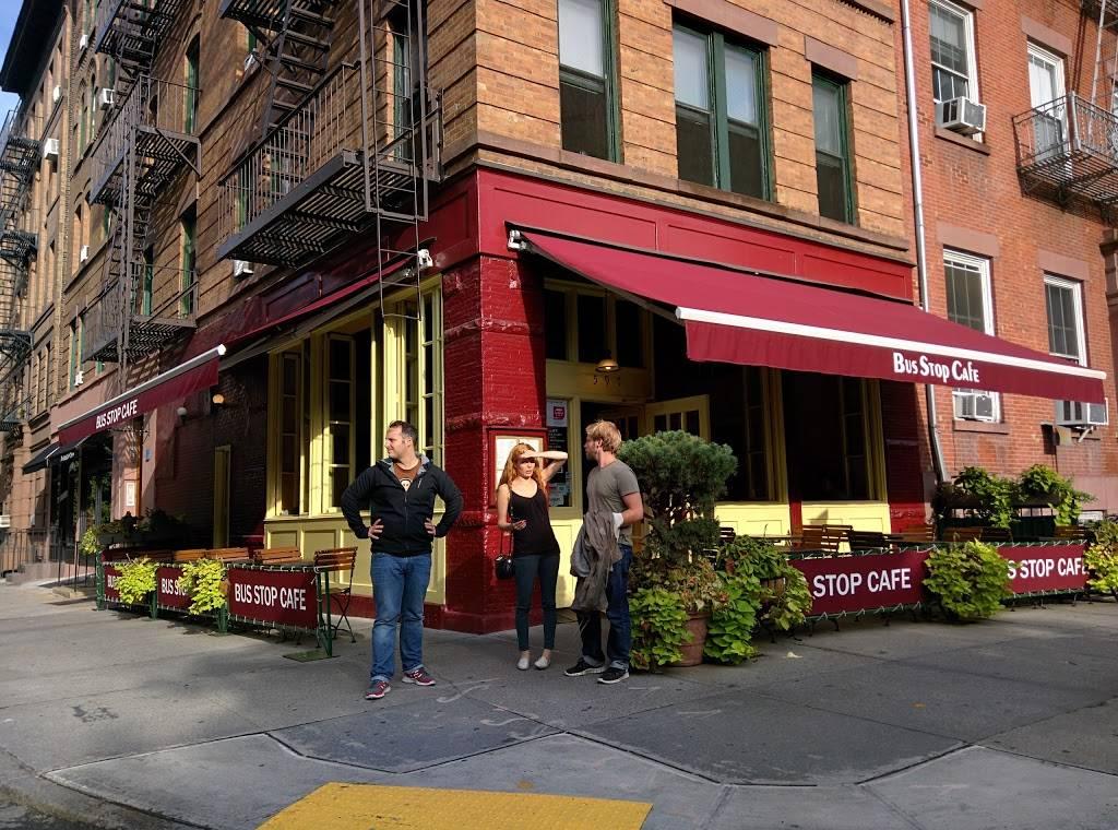 Bus Stop Cafe | restaurant | 597 Hudson St, New York, NY 10014, USA | 2122061100 OR +1 212-206-1100