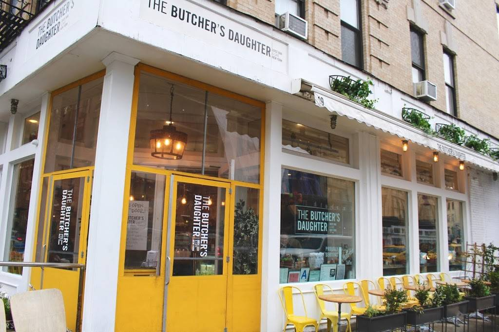 The Butchers Daughter | restaurant | 581 Hudson St, New York, NY 10014, USA | 9173882132 OR +1 917-388-2132
