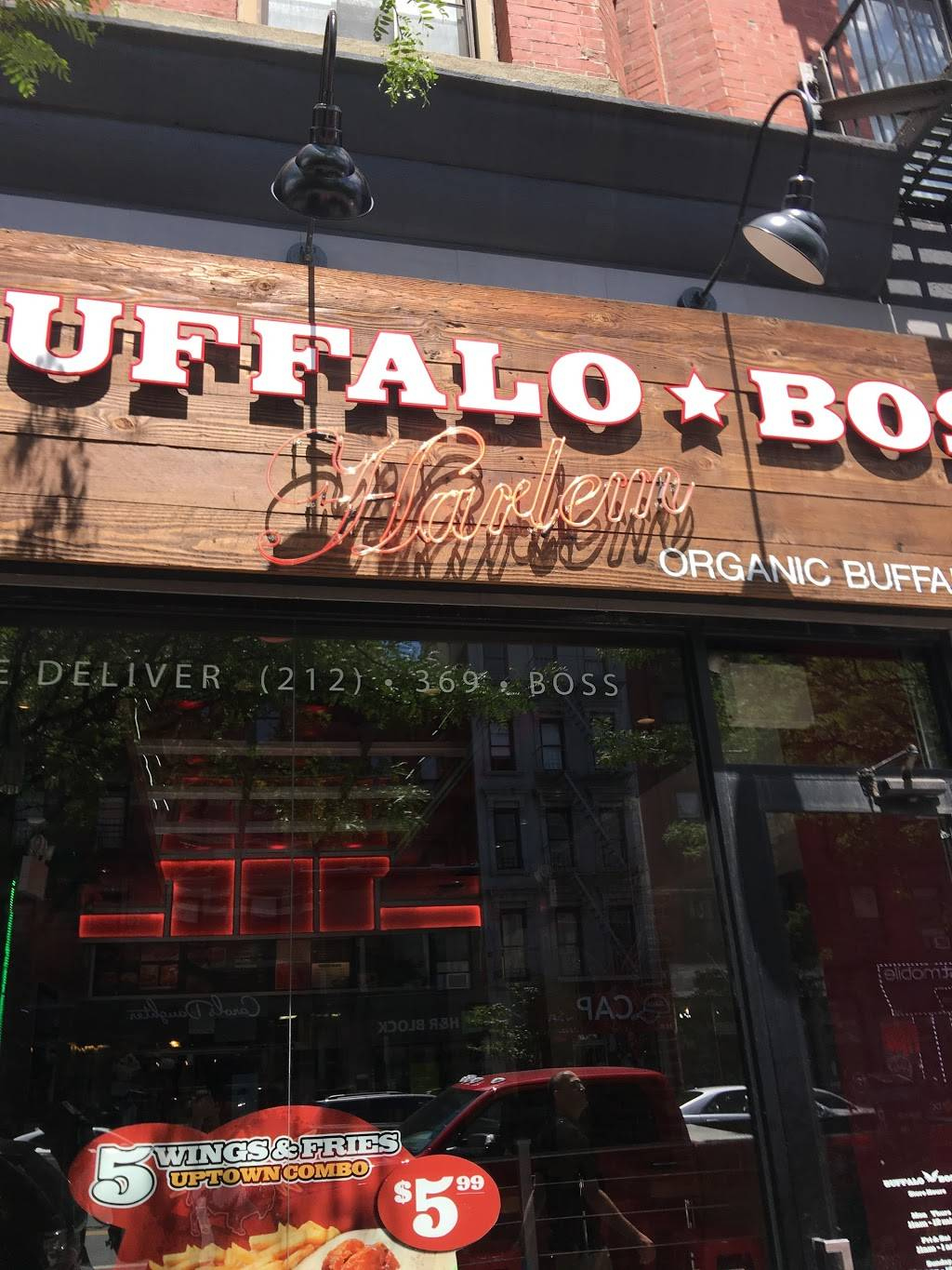 Buffalo Boss | restaurant | 17 W 125th St, New York, NY 10027, USA | 2123692677 OR +1 212-369-2677