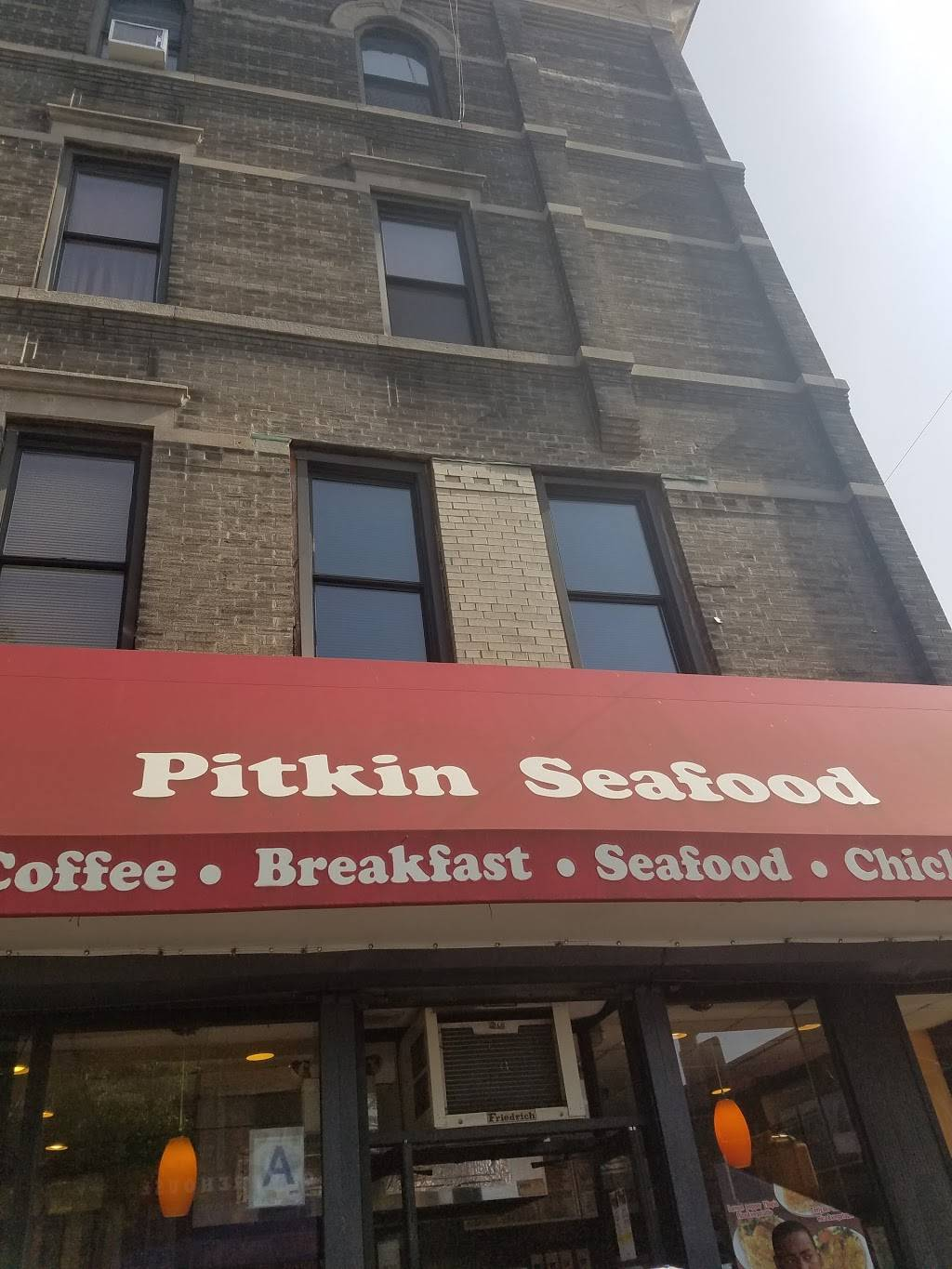 Pitkin Seafood | restaurant | 1670 Pitkin Ave, Brooklyn, NY 11212, USA | 7183461670 OR +1 718-346-1670