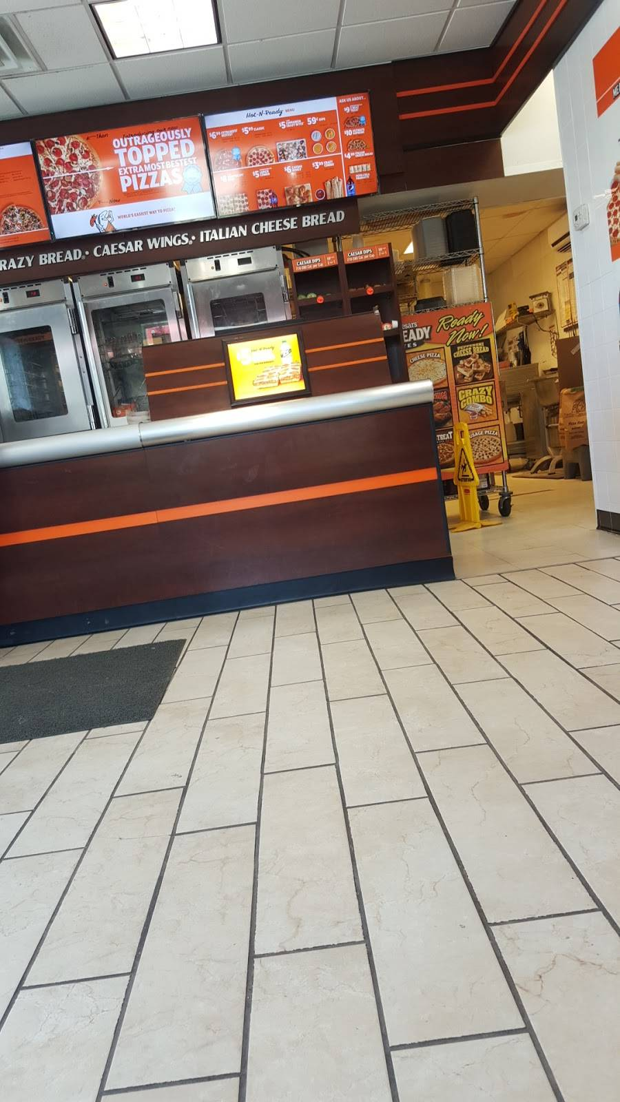 Little Caesars Pizza | meal takeaway | 148-150 Wickham Ave, Middletown, NY 10940, USA | 8453434540 OR +1 845-343-4540