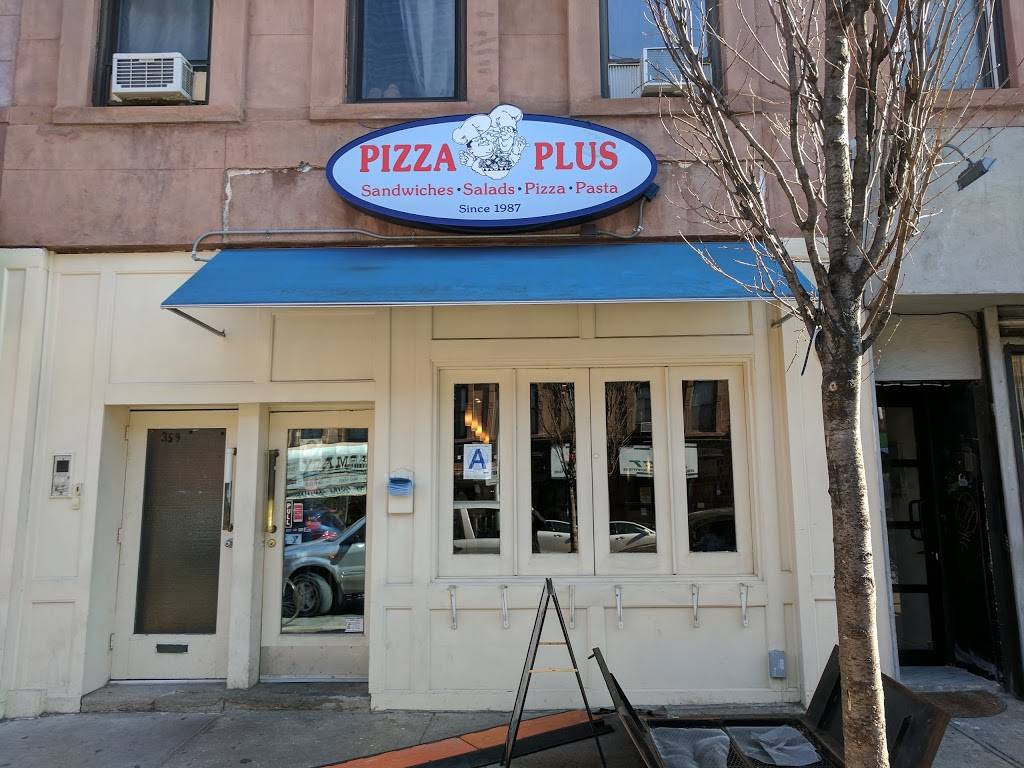 Pizza Plus   restaurant   359 7th Ave, Brooklyn, NY 11215, USA   7187685327 OR +1 718-768-5327