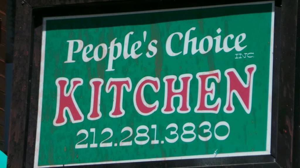 Peoples Choice | restaurant | 2733 Frederick Douglass Blvd, New York, NY 10039, USA | 2122813830 OR +1 212-281-3830