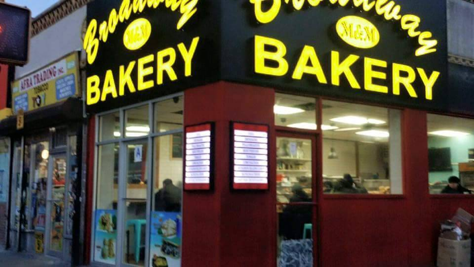 M&M Broadway Bakery   bakery   89-52 Elmhurst Ave, Queens, NY 11373, USA   7187794642 OR +1 718-779-4642