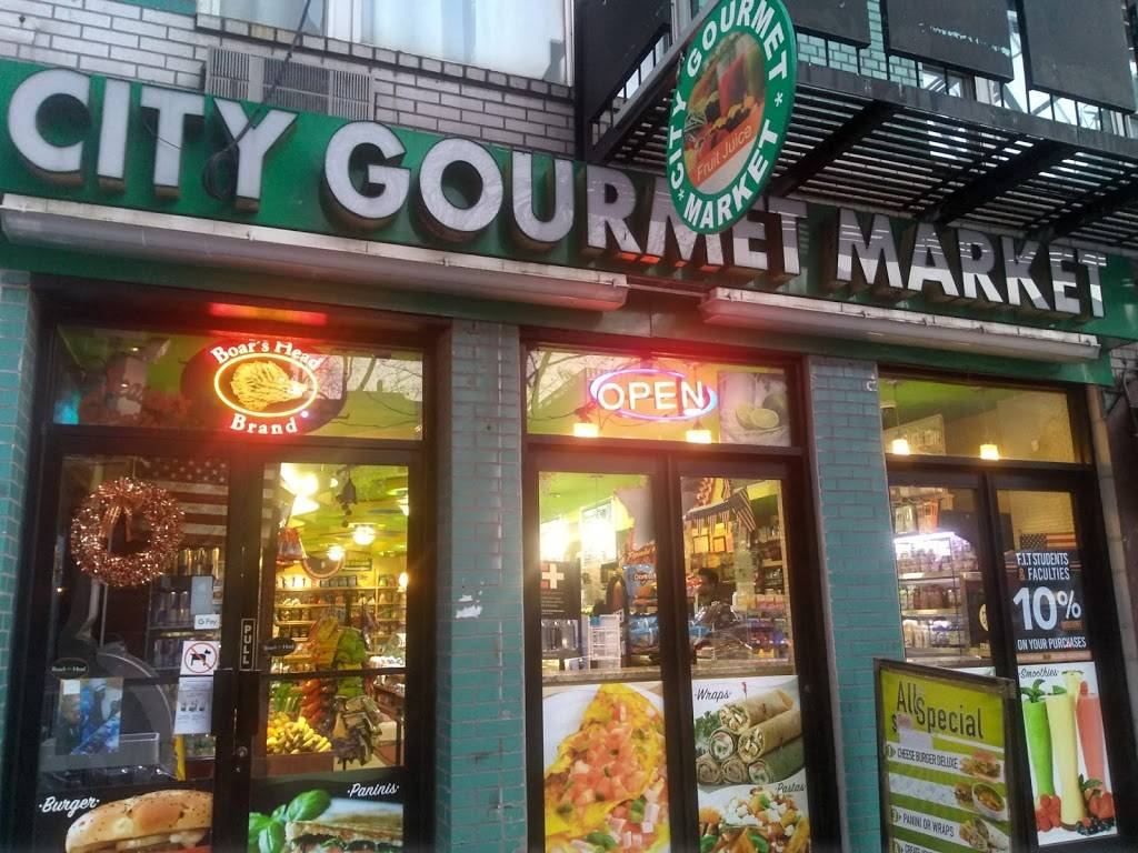 City Gourmet Market | restaurant | 338 8th Ave, New York, NY 10001, USA | 6464655027 OR +1 646-465-5027