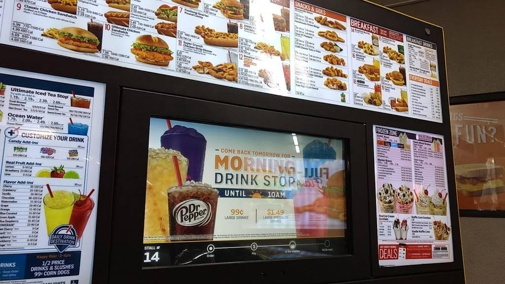 Sonic Drive-In | restaurant | 6919 Ridge Rd, Port Richey, FL 34668, USA | 7278158645 OR +1 727-815-8645