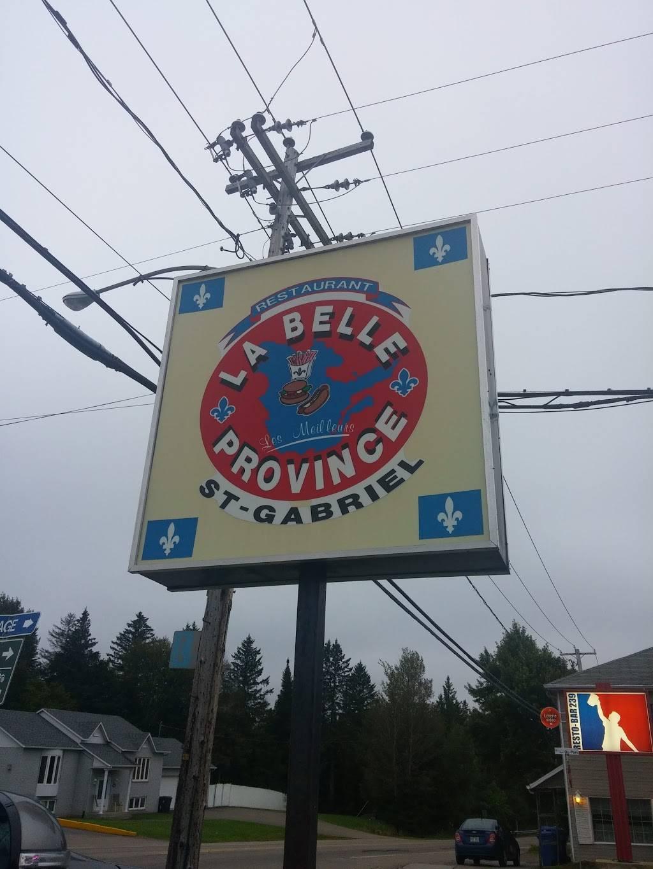 La Belle Province Saint-Gabriel   restaurant   237 Rue Maskinongé, Saint-Gabriel-de-Brandon, QC J0K 2N0, Canada   4508350699 OR +1 450-835-0699