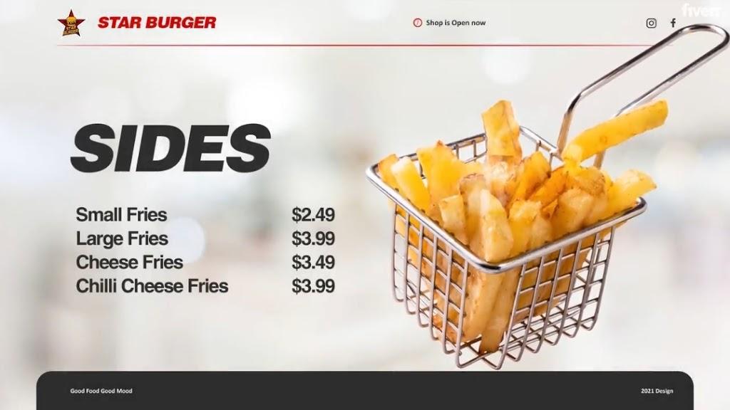 Star Burger | restaurant | 5001 Government Rd, Richmond, VA 23231, USA | 8044423555 OR +1 804-442-3555