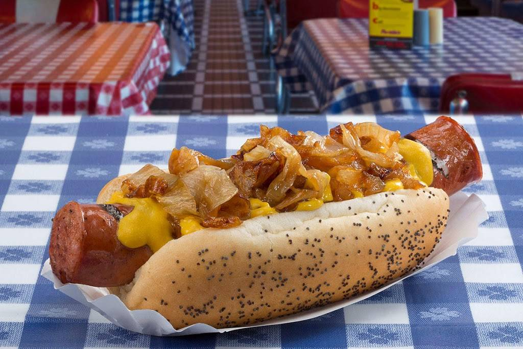 Portillos Hot Dogs   meal takeaway   806 W Dundee Rd, Arlington Heights, IL 60004, USA   8478700870 OR +1 847-870-0870