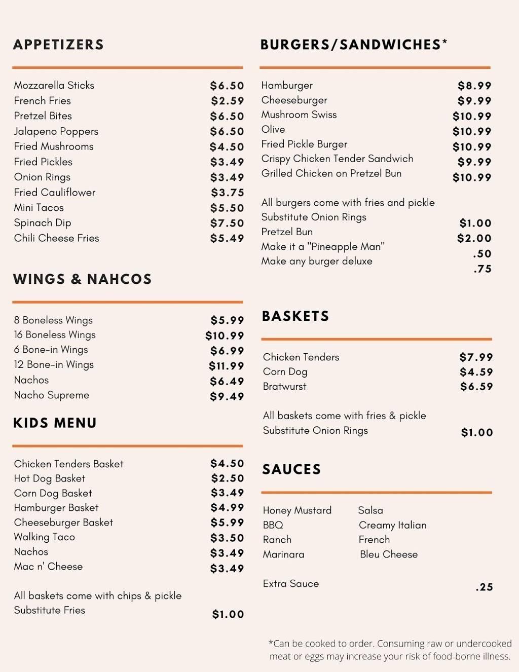 The Ville | restaurant | 204 W State St, Scottville, MI 49454, USA | 2316316802 OR +1 231-631-6802