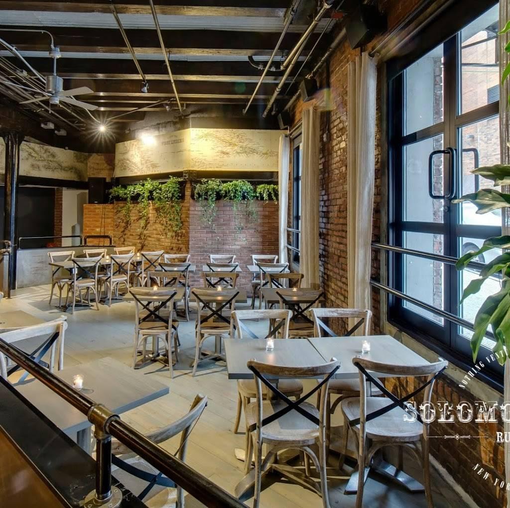Solomon & Kuff | restaurant | 2331 12th Ave, New York, NY 10027, USA | 2122831819 OR +1 212-283-1819