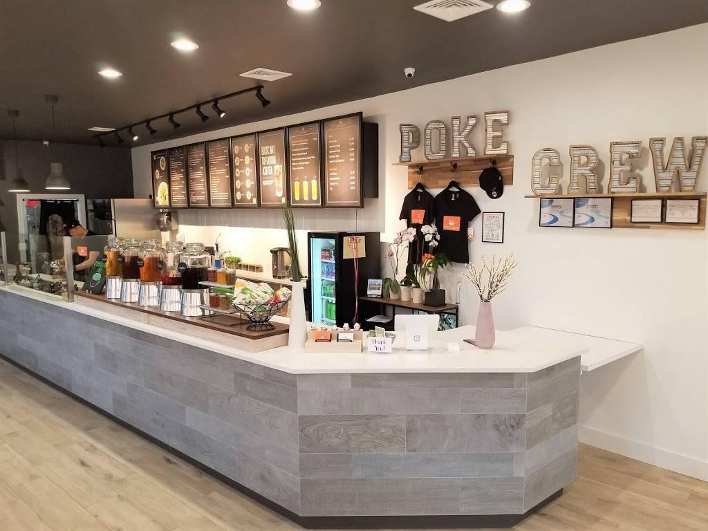 Poke Crew | restaurant | 1 E Palisade Ave, Englewood, NJ 07631, USA | 2014319500 OR +1 201-431-9500