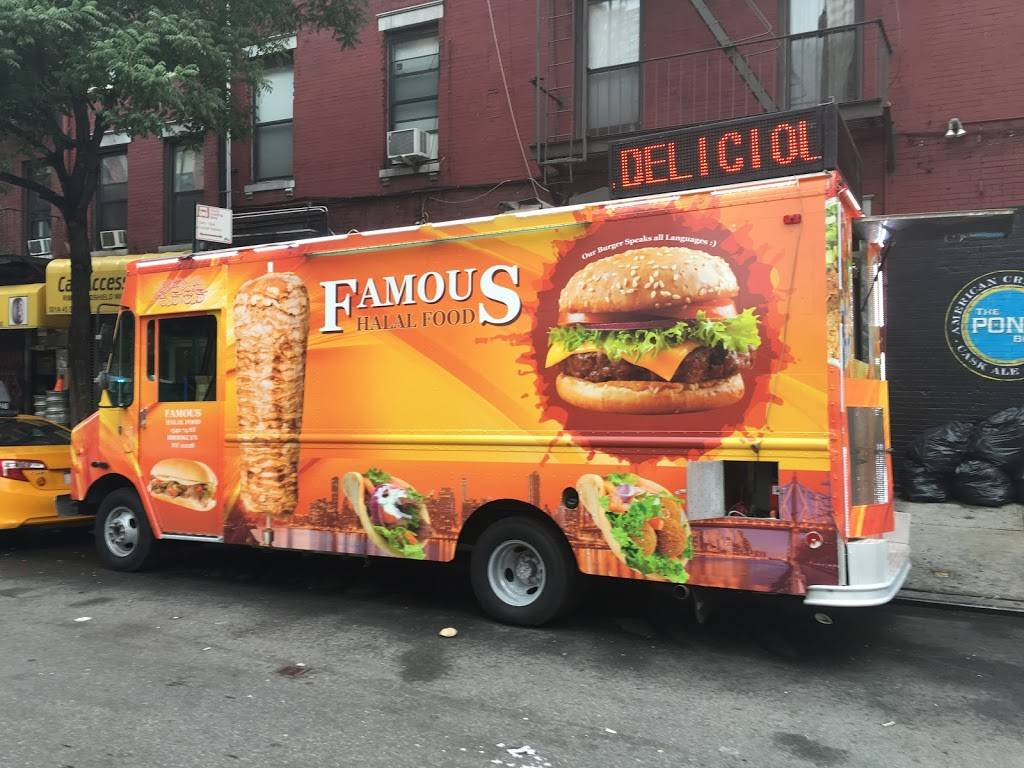 Famous Halal Food (Food Truck) | restaurant | 501-513 W 45th St, New York, NY 10036, USA