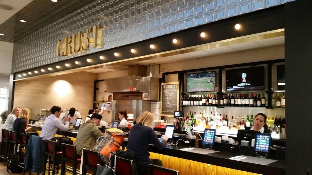 Crust   restaurant   Terminal C, LaGuardia Airport Entrance, East Elmhurst, NY 11371, USA