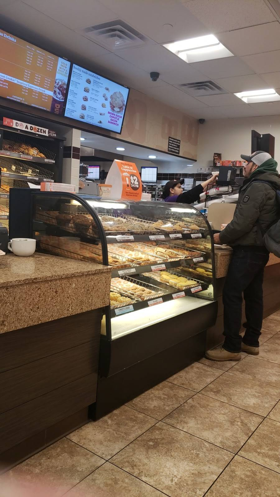 Dunkin Donuts | cafe | 61-12 Roosevelt Ave, Woodside, NY 11377, USA | 7182057105 OR +1 718-205-7105