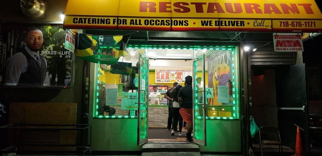 Peppas jerk chicken restaurant | restaurant | 689 Utica Ave, Brooklyn, NY 11203, USA | 7186761171 OR +1 718-676-1171